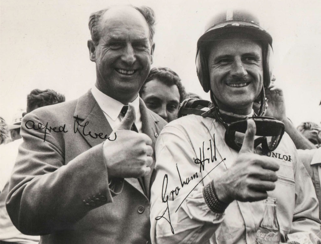 Alfred and Graham Hill